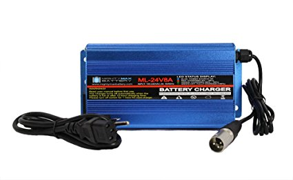 Mighty Max Battery 24 Volt 8 Amp Charger Replacement For Hoveround Mobility Scooters brand product